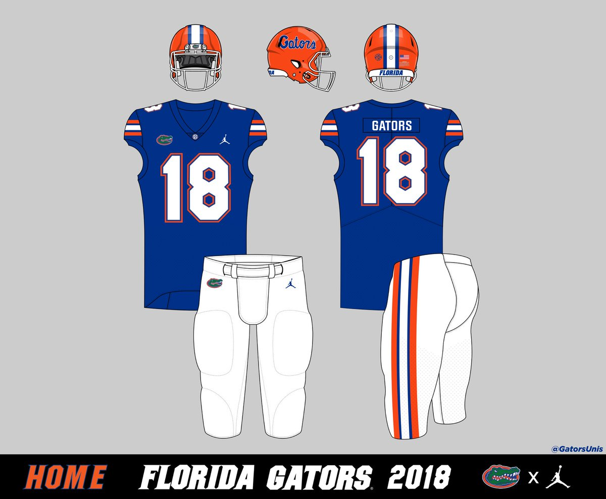 official photos 16bfd 67fce Gators Uniform Tracker on Twitter: