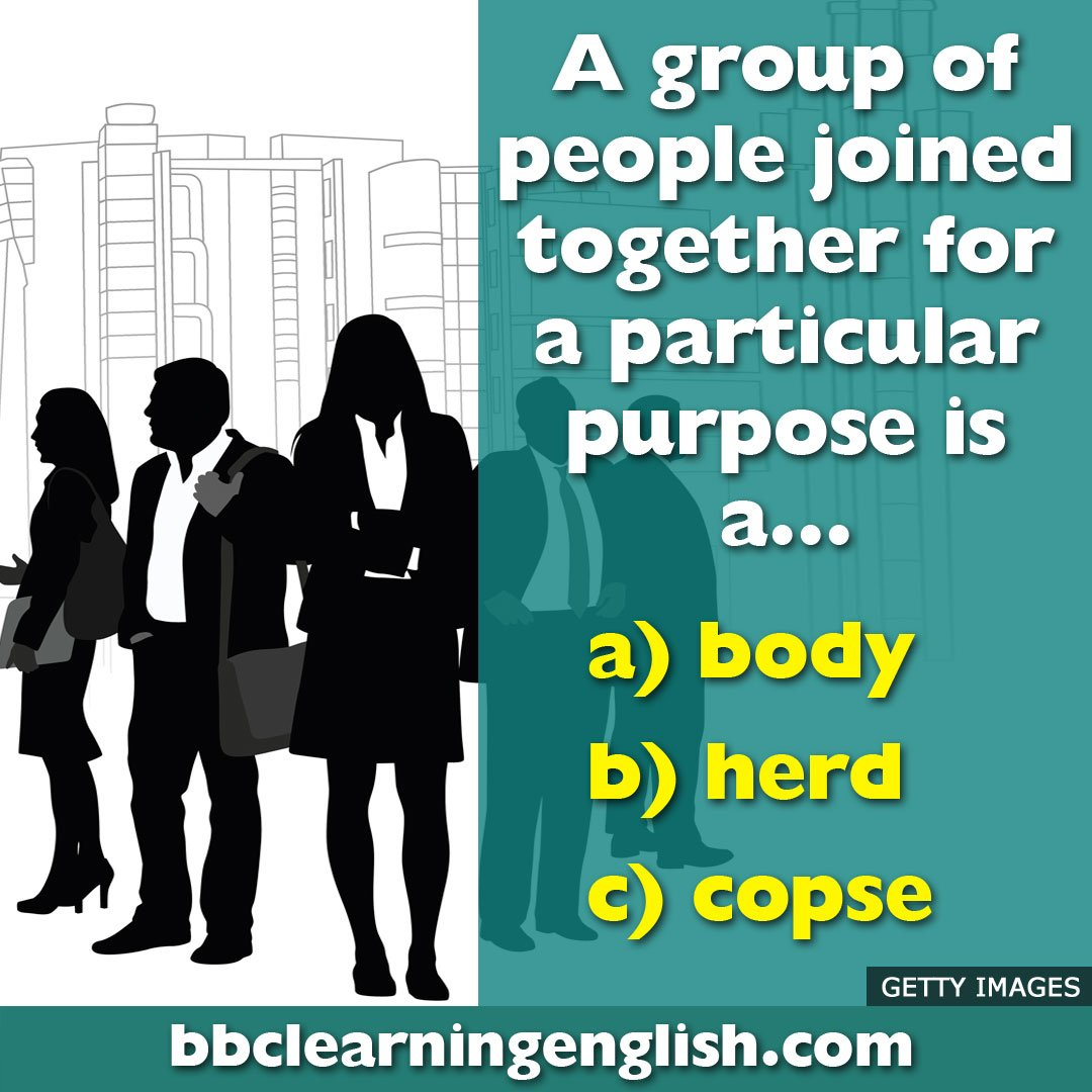 ☀️The sun is shining. It's a perfect day for a quiz so let's start with this. [You'll get the answer in News Review later] #learnenglish