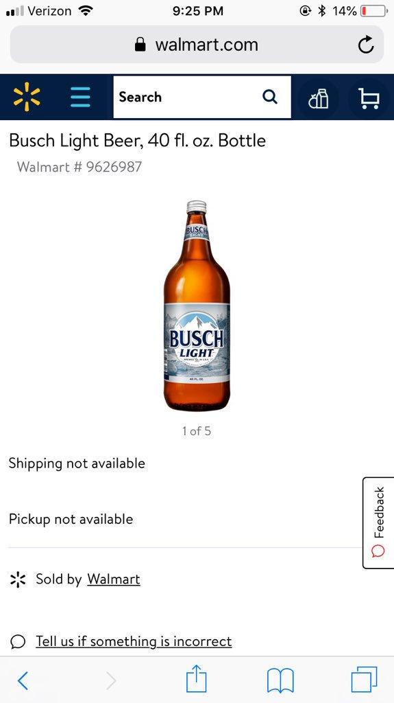 Madison : 40 oz beer walmart