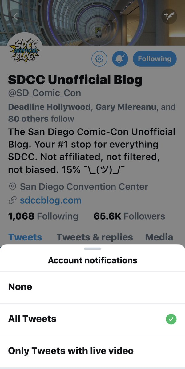 It's that time of year again, when I switch on notifications for the excellent @SD_Comic_Con so as not to miss any great #SDCC updates