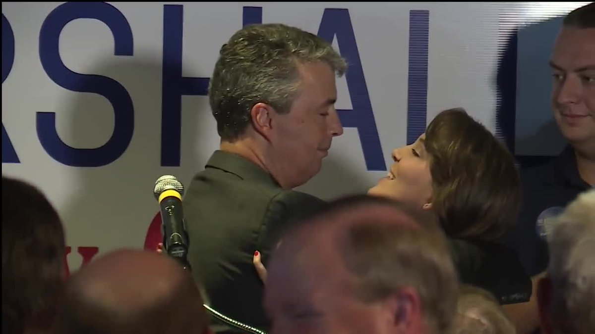 'I love you.  ' Steve Marshall got a big hug from his daughter after his runoff victory speec #ALPolitics #WVTM13https://t.co/zoakebxBt6h