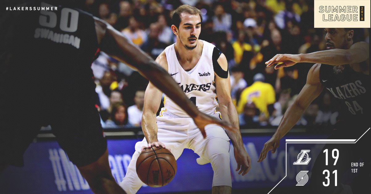 Regroup and move forward. #LakersSummer