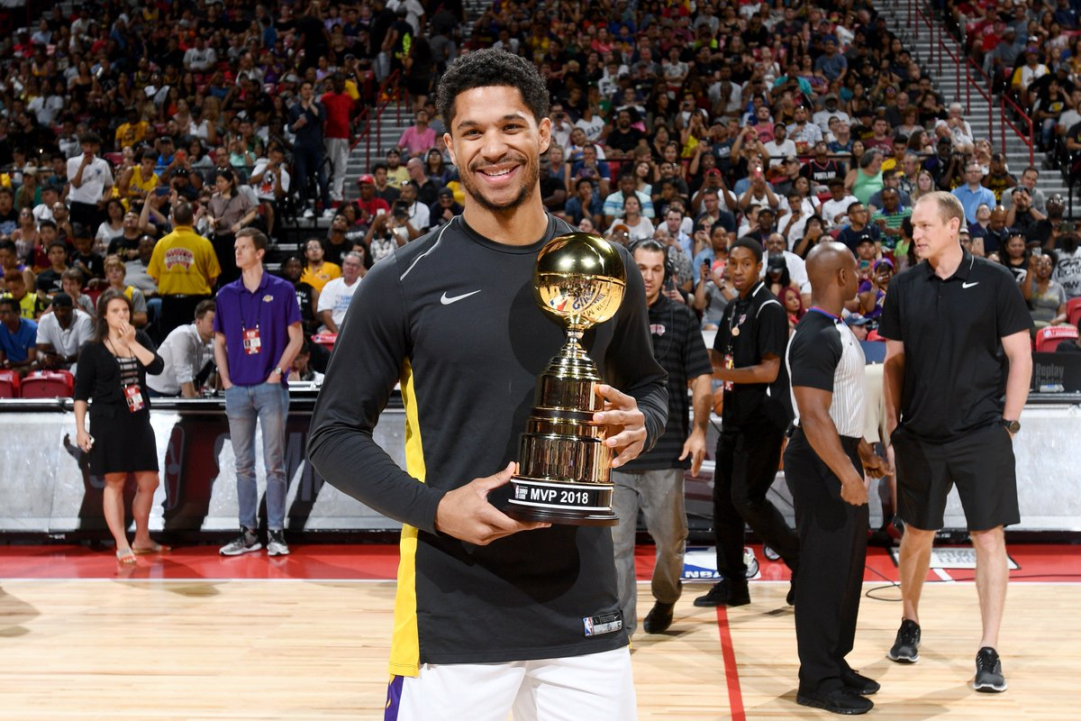 National champion with @NovaMBB ✔️ @NBASummerLeague MVP with the @Lakers ✔️  @joshhart ➡️ #ThisIsWhyWePlay
