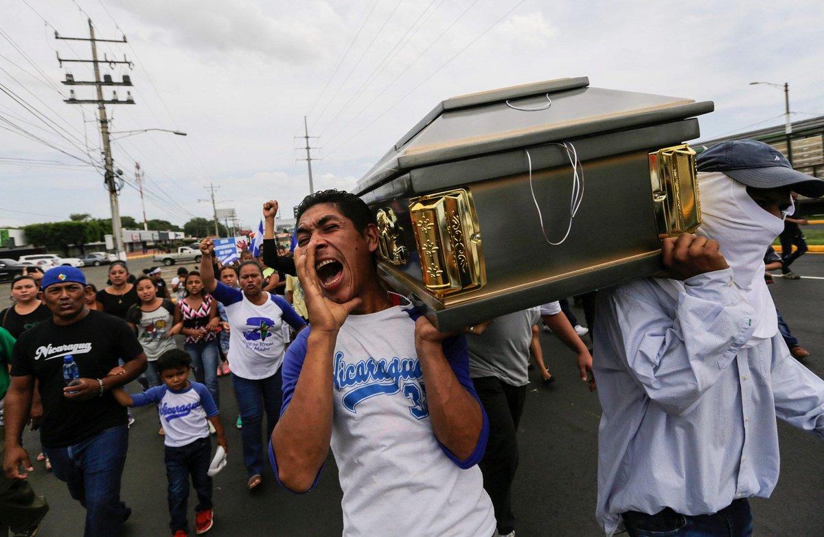 Violenta operación gubernamental en Masaya dejó al menos 2 muertos en Nicaragua. ► https://t.co/jQScaBFIAn