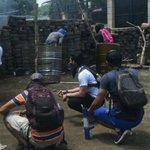 Image for the Tweet beginning: Nicaragua : violent assaut de