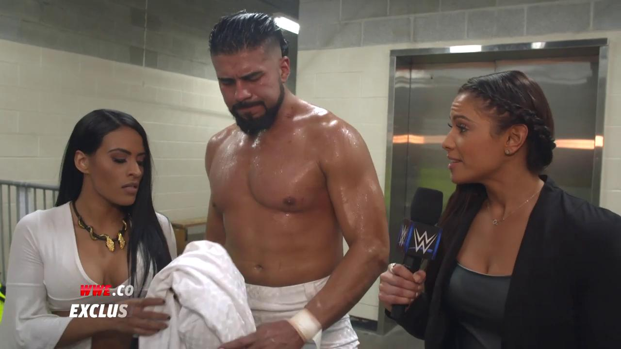 EXCLUSIVE: Always listen to @Zelina_VegaWWE. @AndradeCienWWE IS the #FutureOfSDLive! #SDLive https://t.co/jlt6vqsYs1