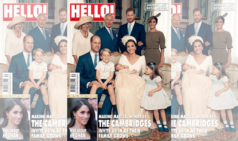 Don't forget to pick up a copy of this week's HELLO! to see the official photos from Prince Louis' christening. Out now. #PrinceLouis