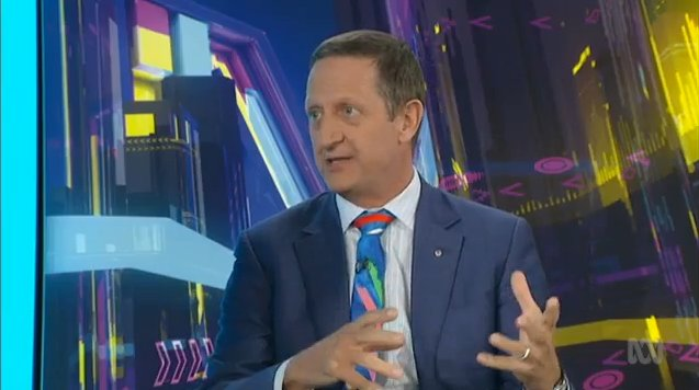 """This idea that there's work and life is the rottenest idea. We don't get well to go to work. We go to work to get well. If you want to be mentally unwell, don't have a job."" @ian_hickie on work #TheDrum"