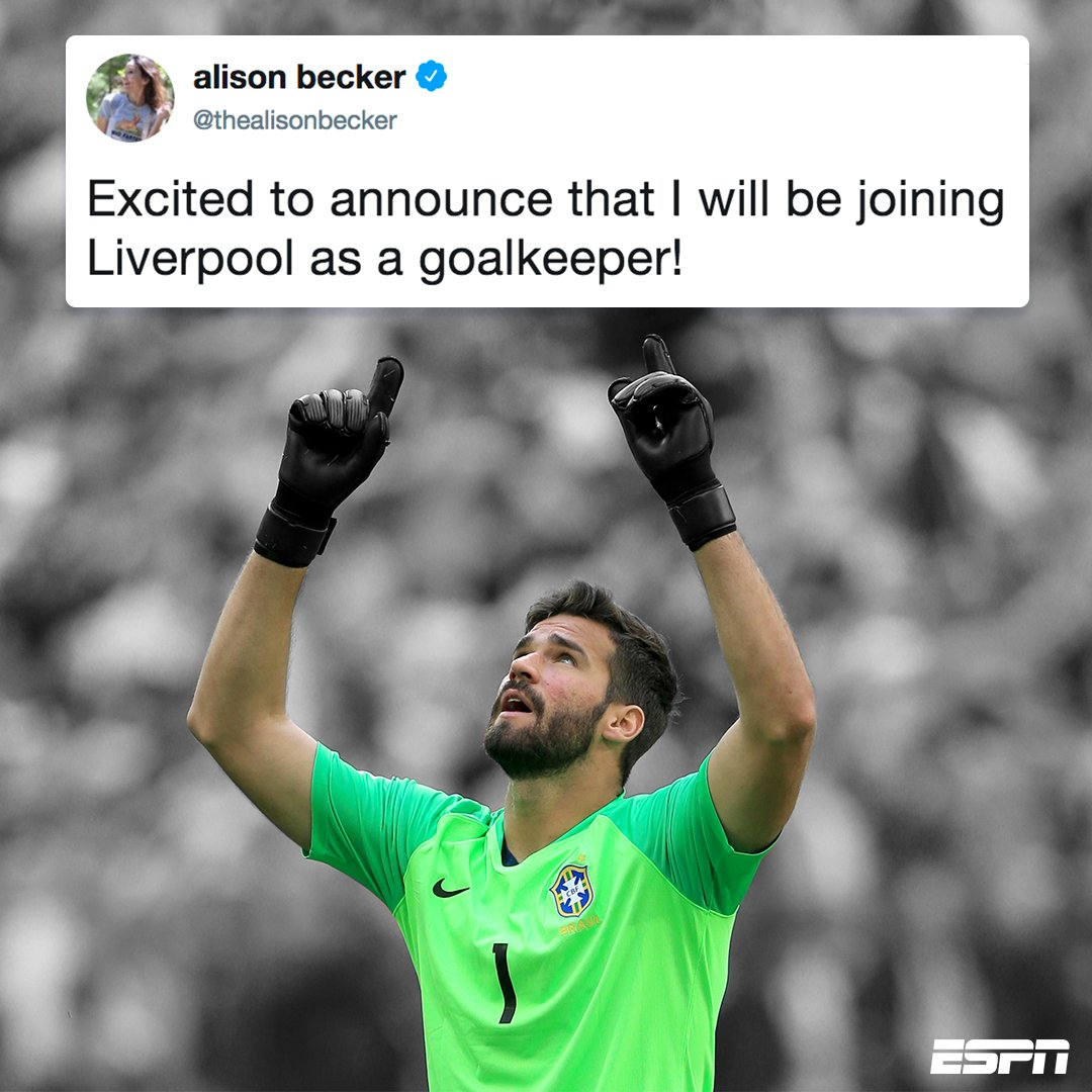 When a comedian with the same name as Europe's most wanted goalkeeper trolls Liverpool fans 😂