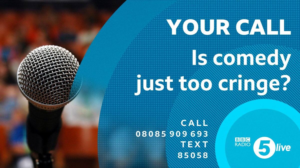 🕘 #5LiveYourCall with Nicky Campbell. Is comedy just too cringe?   📞 08085 909 693     📱 85058  📢 Join the conversation using