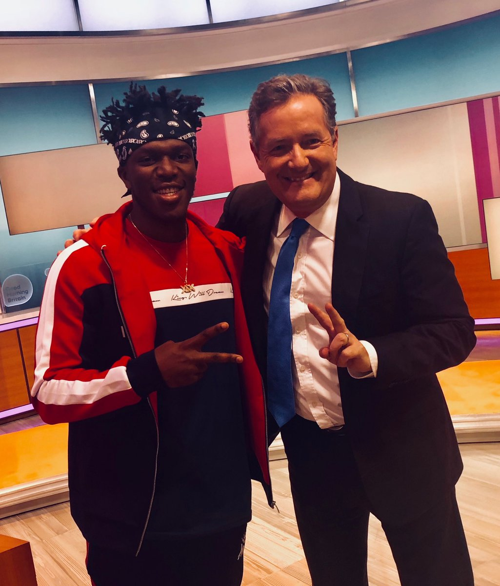 Kings of the Internet. ⁦@KSIOlajidebt⁩ ⁦@GMB⁩