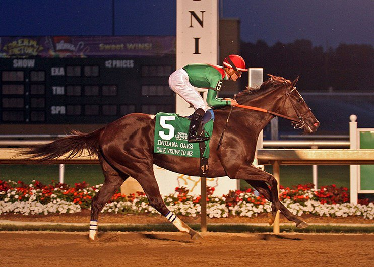 #Hipismo Talk Veuve to Me con Julien Leparoux gana el Indiana Oaks (G3) en Indiana Grand Race Course. https://t.co/wkqdf1CVvV