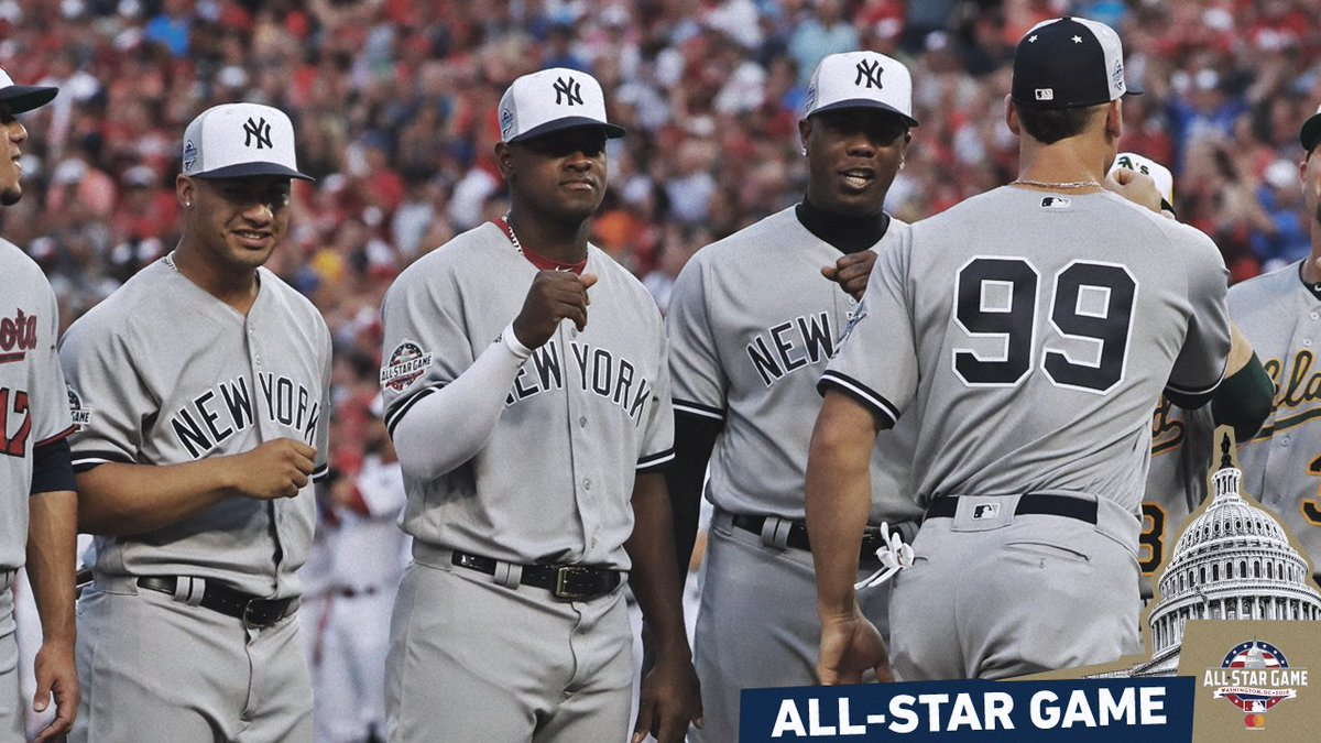 You made us proud. @TheJudge44 @LuisSeverino94 @AChapman_105 @TorresGleyber