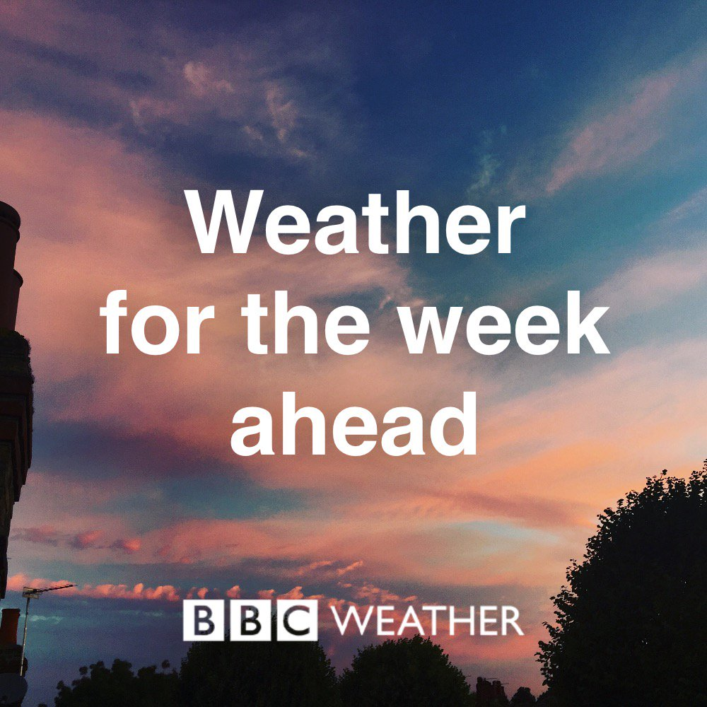 Any #rain in the #WeatherForTheWeekAhead... or just more heat? Find out: https://t.co/NI9tPOpvVO Ben R