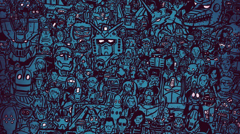 How many robots can you spot in this awesome poster? https://t.co/a0ejHcPUKn