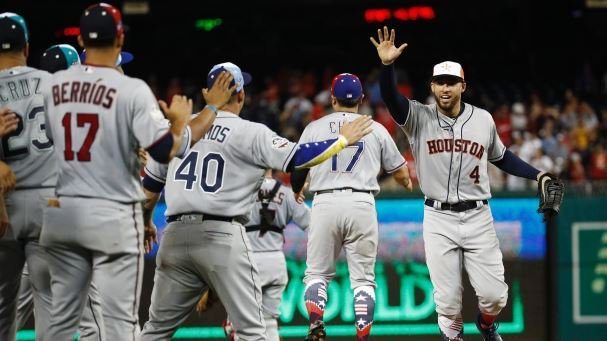 Record 10 homers hit as AL wins All-Star Game in extras. MORE: https://t.co/9SNB5k0t21