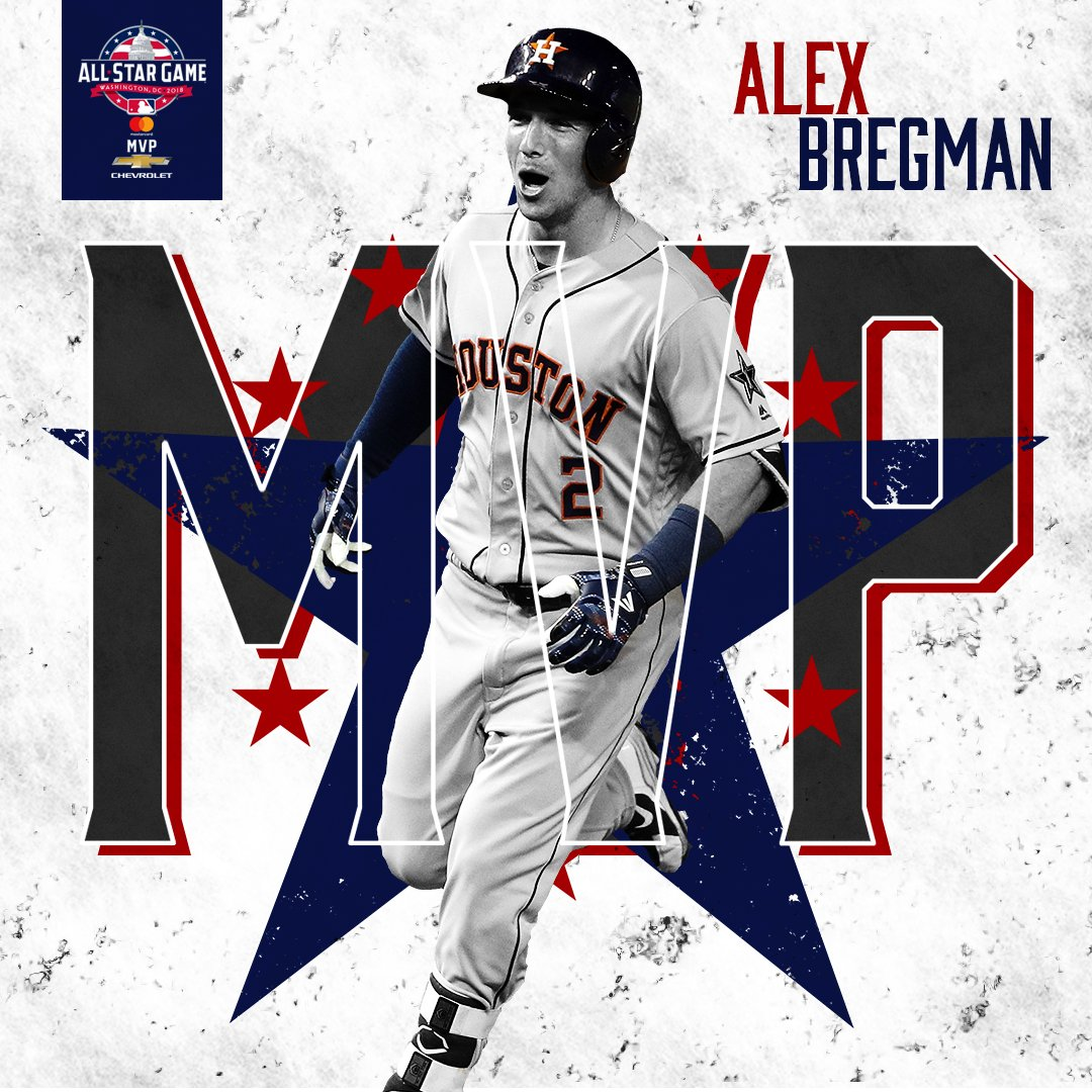 Big-game Bregman.     @ABREG_1 is your @chevrolet #AllStarGame MVP.