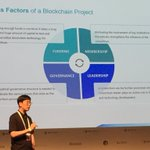 JH Kim of @helloiconworld lays out four success factors of successful blockchain projects. Technology is not among them. #bbseoul2018