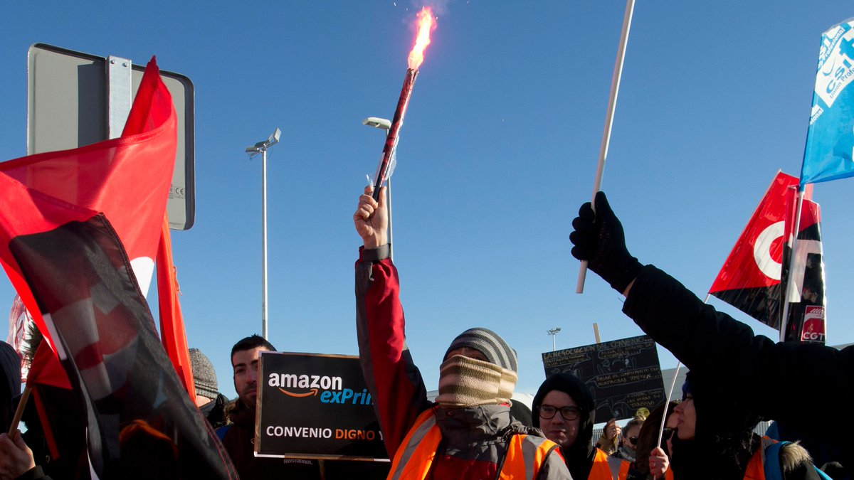 Amazon warehouse strike in Spain reportedly results in police clashes, arrests https://t.co/OzYlwSXv4L