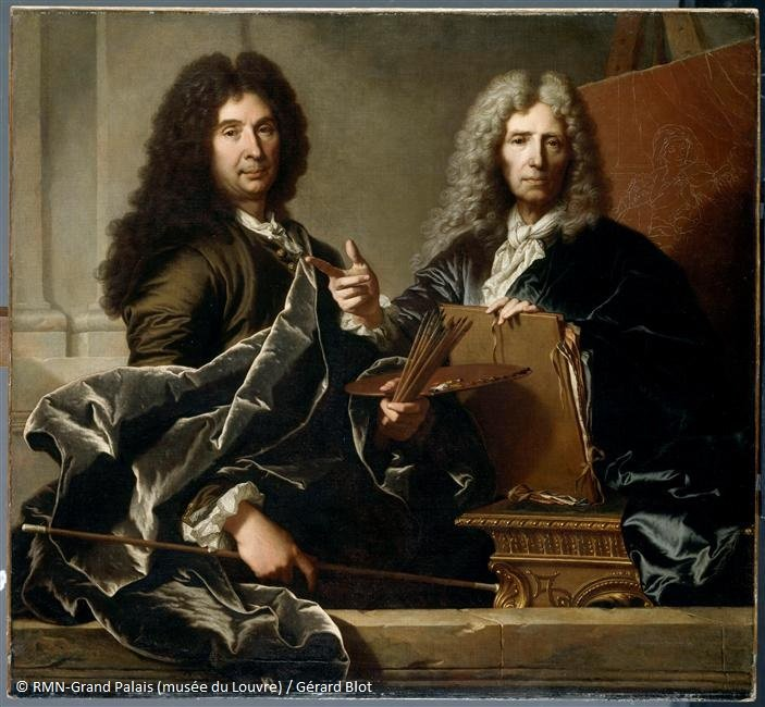 Image for the Tweet beginning: Le grand Hyacinthe Rigaud, né