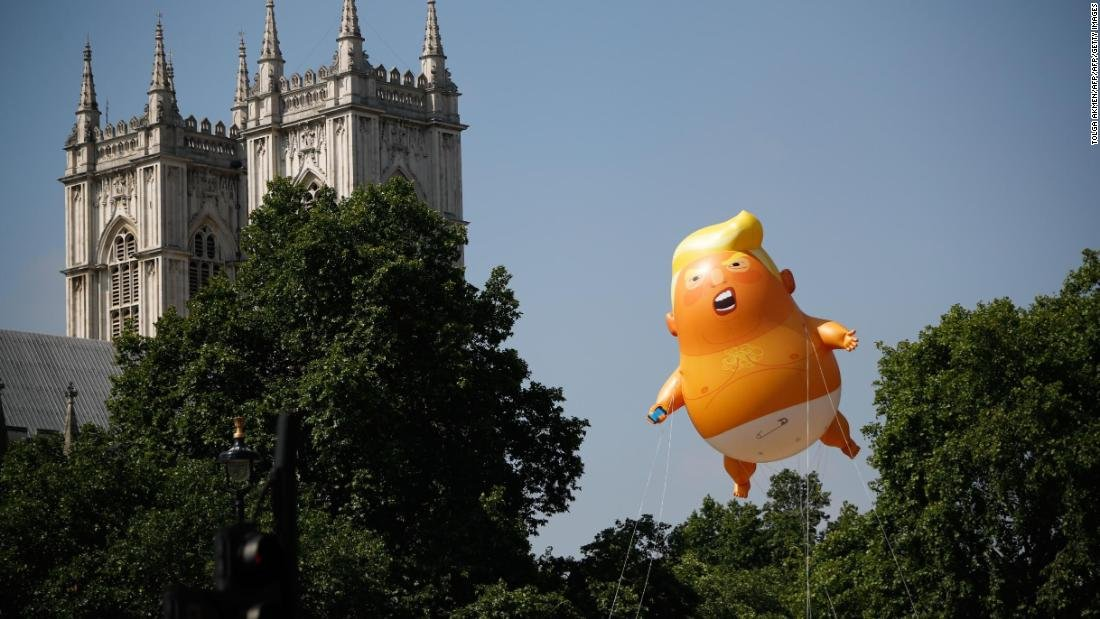 Activists in New Jersey are bringing 'Baby Trump' blimps to the US after seeing the diaper-clad balloon's scene-stealing appearances during protests against President Donald Trump's visit to the UK https://t.co/2Ne9aZj2PP