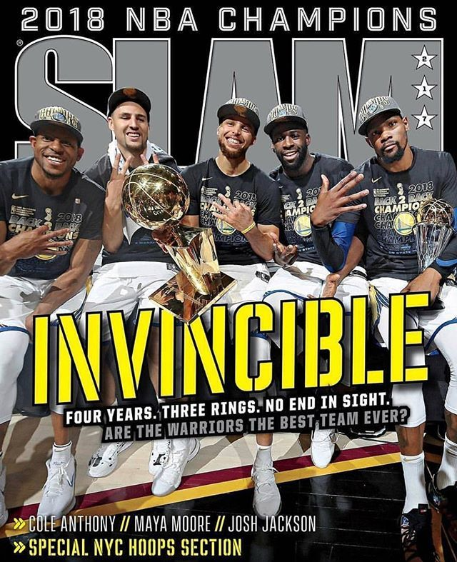 The Golden State #Warriors are the definition of #Invincible!�������� @slamonline �� https://t.co/xFbbaxwumW