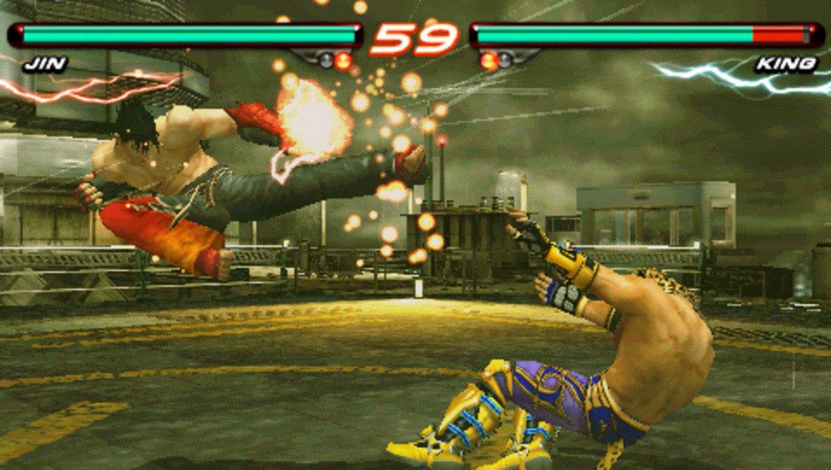 G I Deon On Twitter Tekken 5 Dark Resurrection Is A Fighting