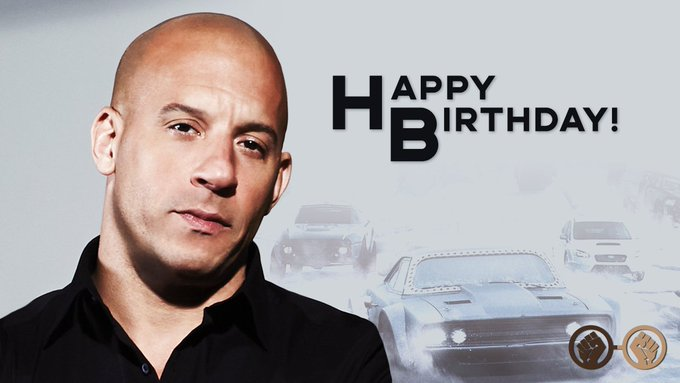 Happy birthday, Vin Diesel. The \Fast & Furious\ star turns 51 today.