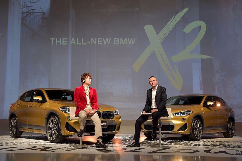完成したメイキング映像と共に…香取慎吾が常識を塗り替える、BMW X2スペシャル・コンセプト・ムービー!➡︎https://t.co/3TgpAooANT