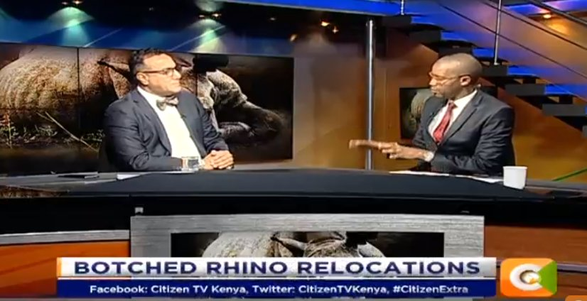 Najib Balala:  We have created so many structures that we do not have a budget for. One is the compensation program   Kenyans are no longer looking at wildlife as our heritage rather as a form of government compensation #CitizenExtra