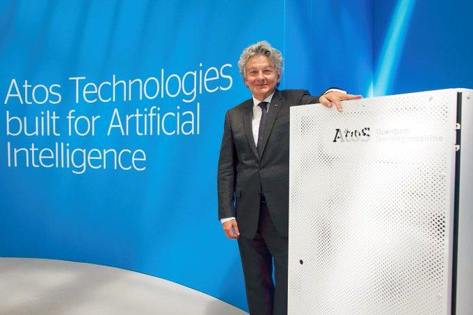 Atos ha presentado la última versión de su Atos Quantum Learning Machine #AtosQLM, más...