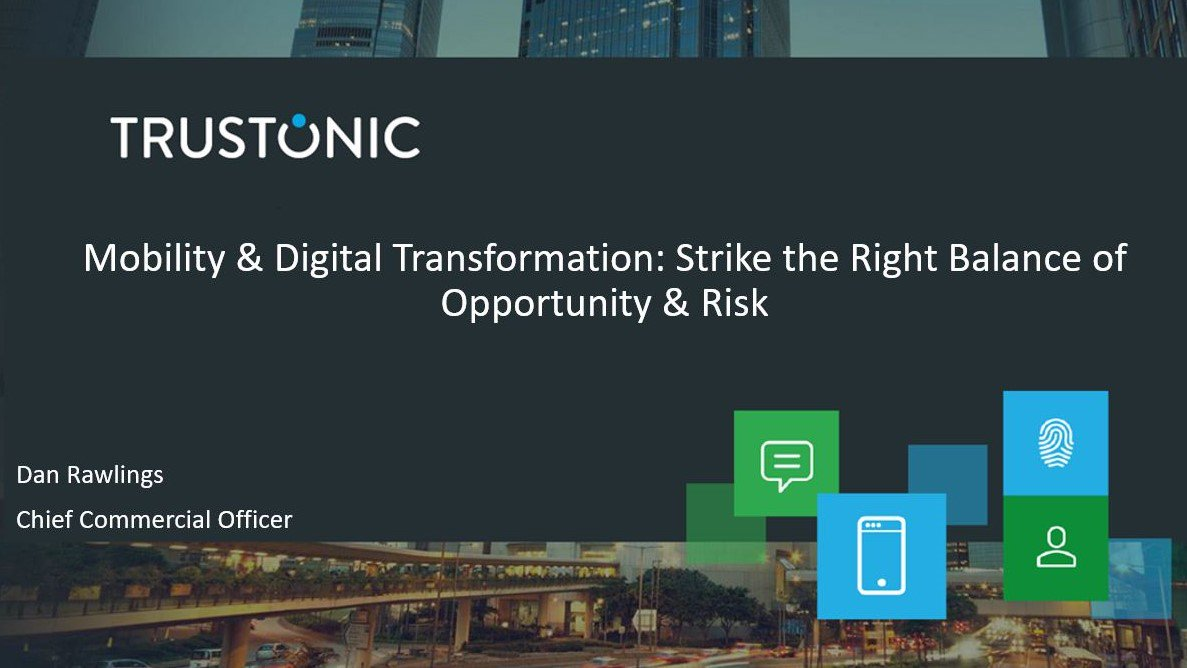 """4Pm Bst trustonic on twitter: """"tune in to our webinar today at 4pm"""