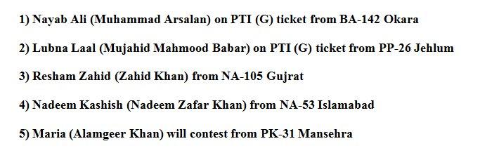 5 Transgender Will Contest Elections in Pakistan  Details: awamiweb.com/general-electi… #ElectionPakistan #HerVote