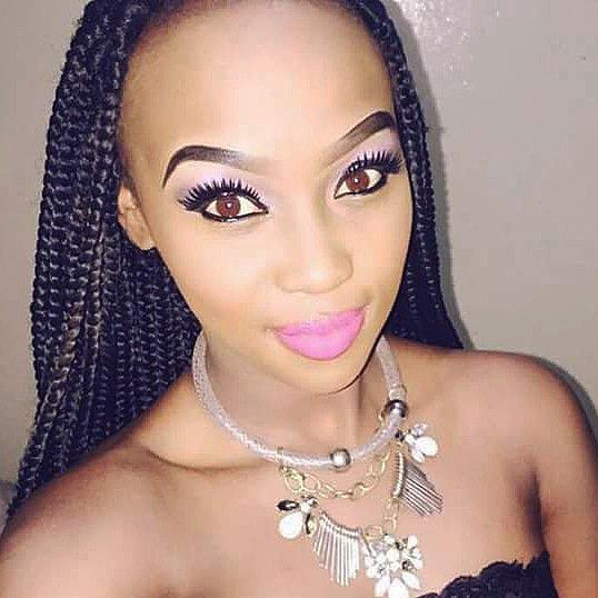 Did you know that I have Natural Hazel Brown Eyes?? 😋 #MAMAKABAFANA #nomathemba #lockdowns3