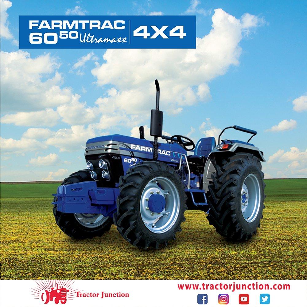 tractorjunction Farmtrac 6050 Ultramaxx has got 3 cylinders, 50hp