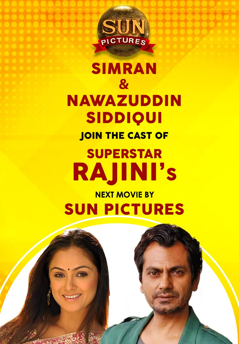 Simran and Nawazuddin Siddiqui in Petta