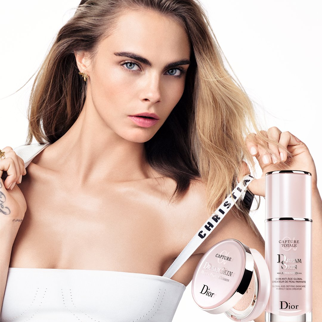 CAPTURE DREAMSKIN, the skin of your dreams.  As Cara, reveal your flawless natural skin, anytime, anywhere. Available https://t.co/FilIbY0jdz #skinofmydreams