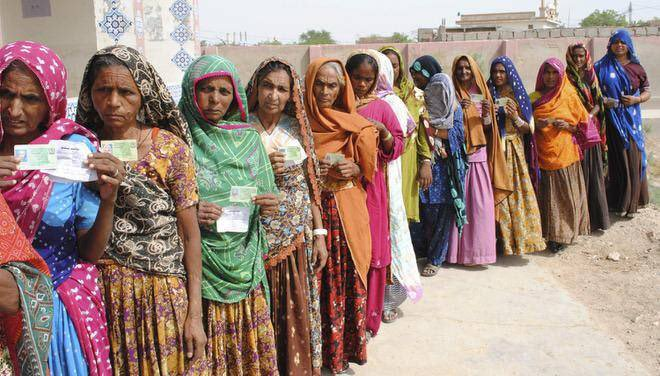 In upcoming general elections, 12 millions of #women aged 18 and above will not be able to cast their vote despite being eligible. #NADRA cannot issue CNICs to the a huge amount of unregistered voters in a short timespan. #GE2018 #HerVote #PeacefulElections #Election2018