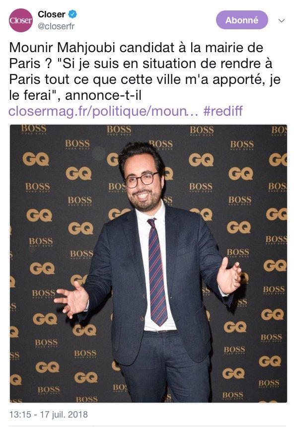 Soutenu par une militante sioniste et anti-arabe, Mounir Mahjoubi vise la mairie de Paris pour 2020