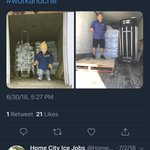 And the winner of the #workandchill contest is......  Cole Market!!! Congratulations @market567 ! You are the perfect example of the evolution of an iceman!   Thank you to everyone who participated in the #workandchill contest! We cannot wait for next year!