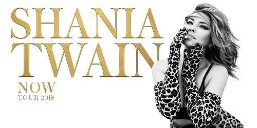 Shania twain kommer till sverige