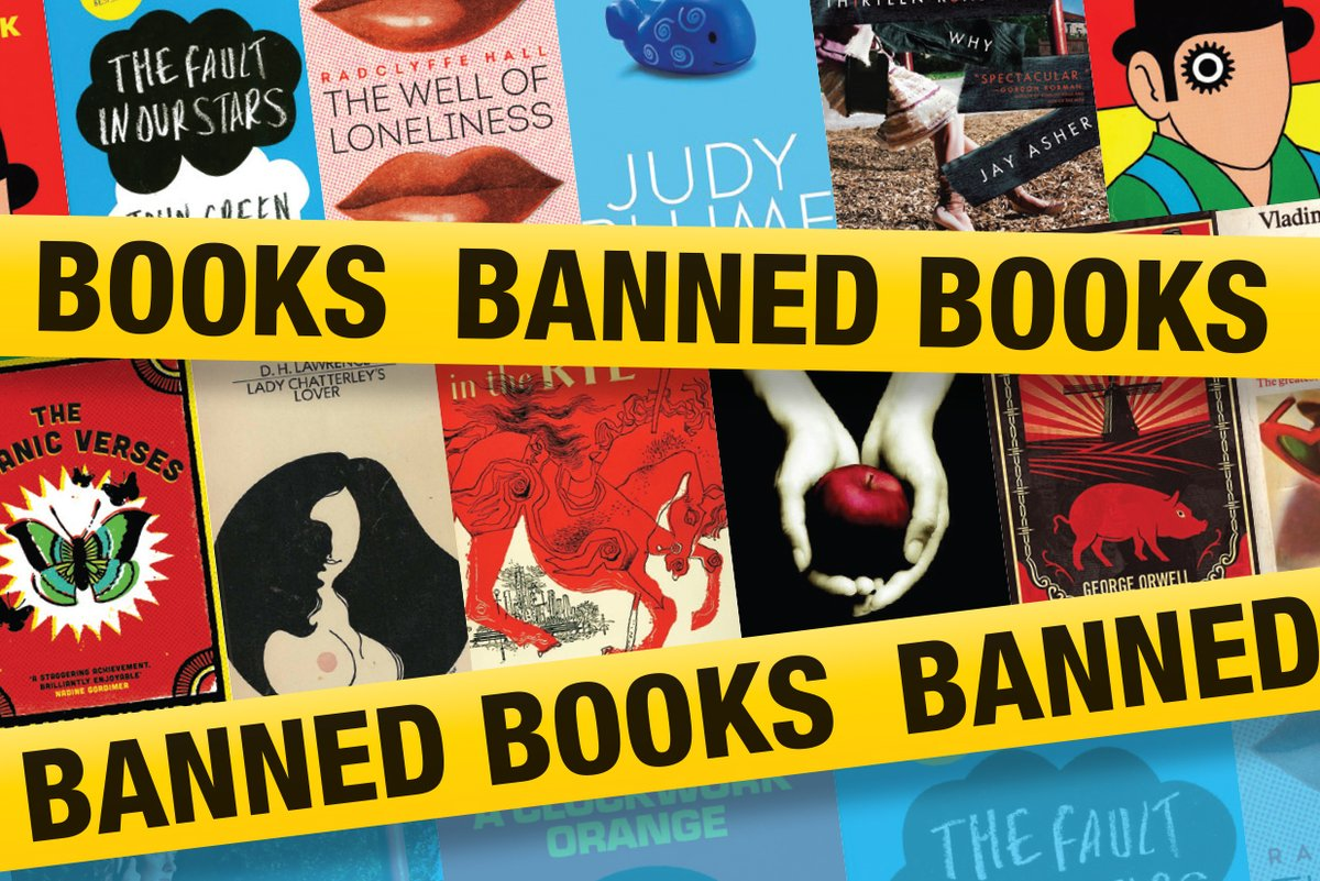 Ahead of #BannedBooksWeek in September, you're invited to celebrate the freedom to read by voting for your favourite banned book. The polls open today: https://t.co/dgEnpxkRQ6