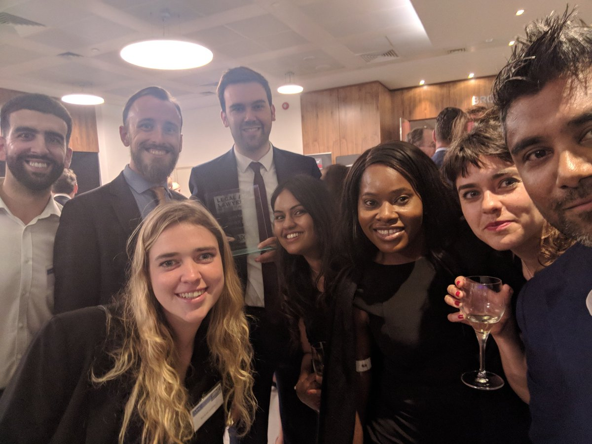 Our @lewis_kett and some of the team and last night's fantastic #LALY18
