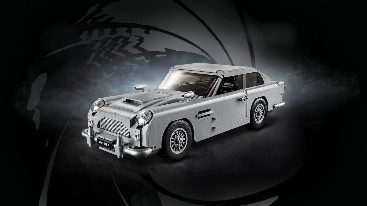 Lego Finally Unveils Its James Bond Aston Martin DB5 https://t.co/JyCoMy5wUV