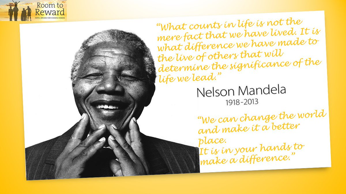 Room To Rewards Tweet This Mandeladay Here Are Two Of Our