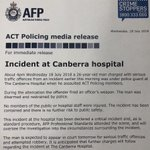 Canberra Hospital Twitter Photo