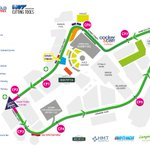 Image for the Tweet beginning: 🚴♂️🚴♀️🏁 The @SheffGrandPrix city centre cycle