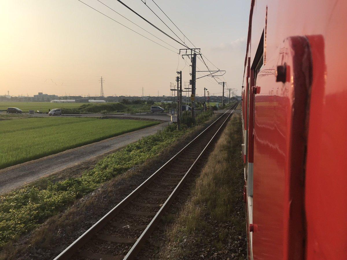 越後線の越後曽根駅~越後赤塚駅間で人身事故の現場画像
