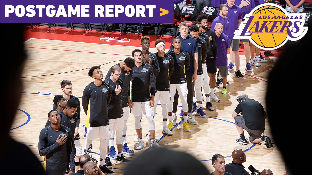 🎥 @LakersReporter and @JoeyARamirez recap the Lakers 2018 Las Vegas Summer League run, and how it can set them up for success in the regular season
