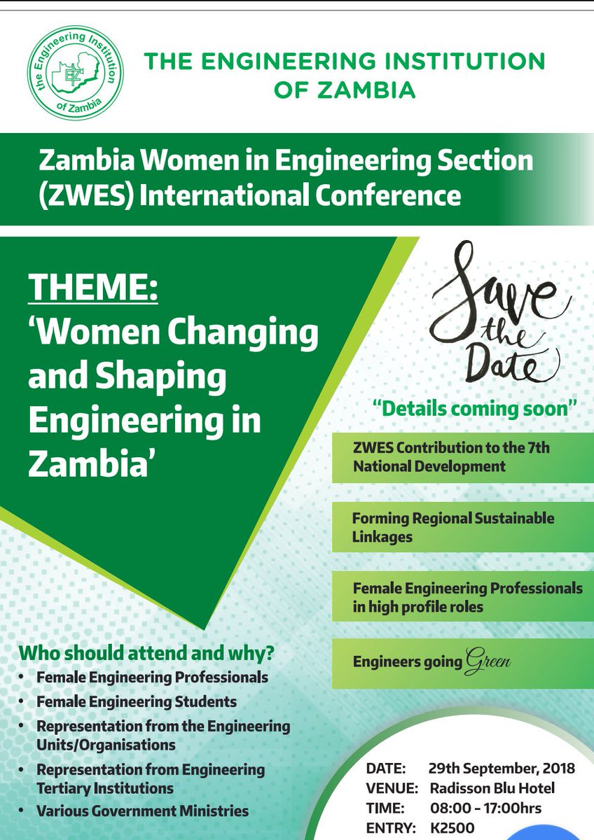 The Engineering Institution Of Zambia on Twitter: